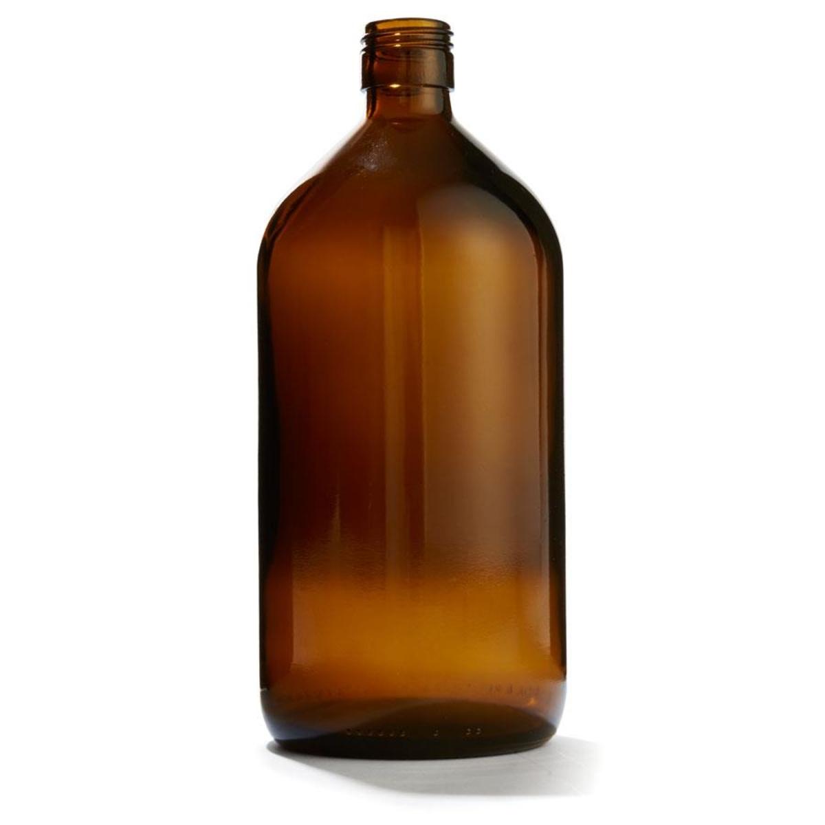 1l Brown Glass Bottle Brown Glass Bottles Bottle Glass Bottles