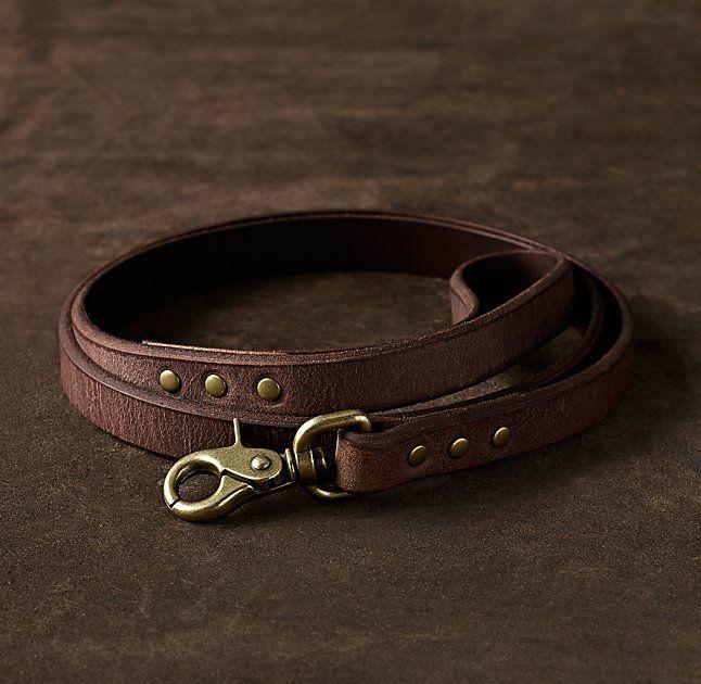 Italian Leather Pet Leash