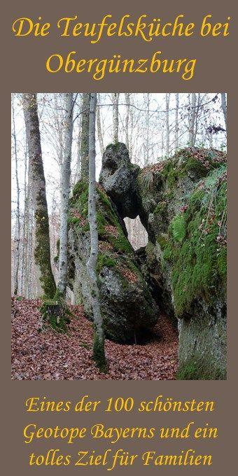 Nicht nur für Kinder toll: das Geotop Teufelsküche bei Obergünzburg #vacationlooks