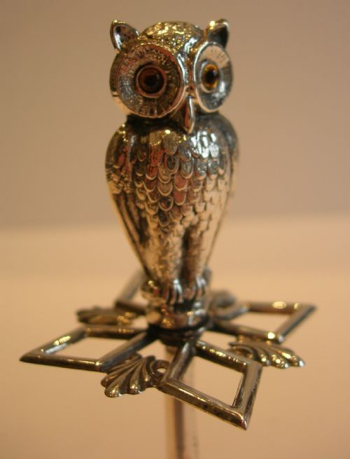 Hat Pin Holder With Images Hat Pins Antique Hats Sterling Silver Owl