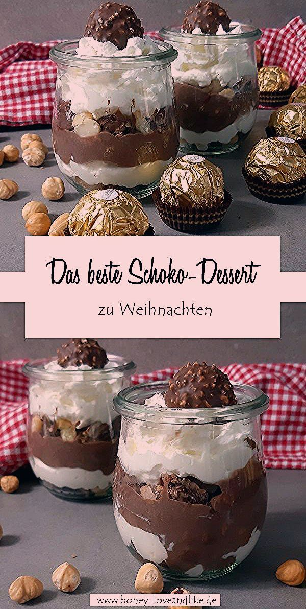 Photo of Das beste Schokodessert zu Weihnachten: Rocher Schichtdessert