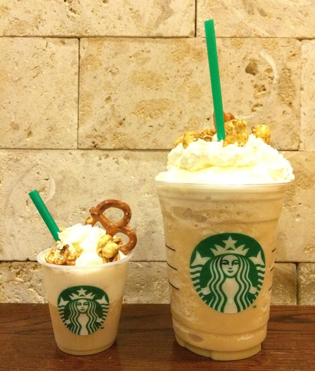 "starbucksph new summer drink and my favorite the ""Popzel"