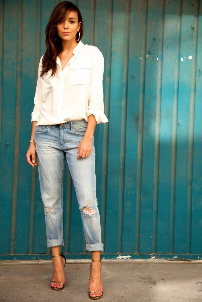 c21a6a72e50 Chemise blanche femme - comment la porter pour un look moderne ...