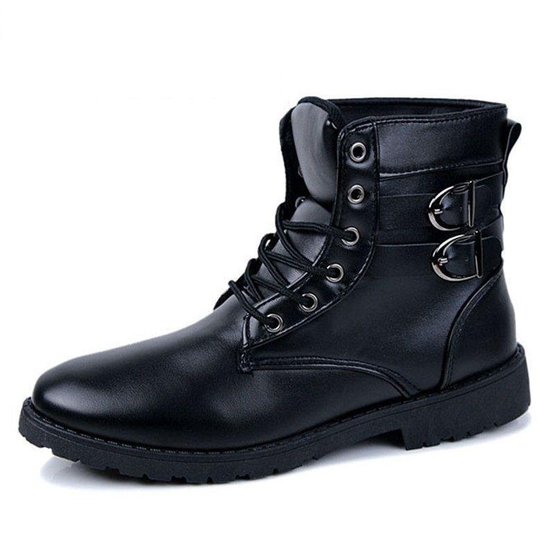7e0efbb19d0 2017 winter men's Martin cotton boots warm shoes for men snow boots ...