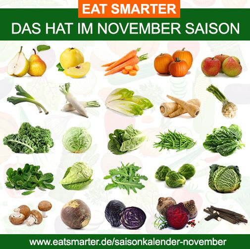 Was hat saison im november saisonkalender ges ndeste for Kochen hat saison