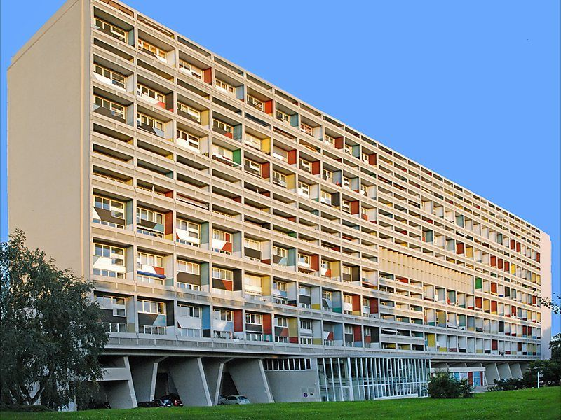 Le Corbusier House In Berlin Germany Sygic Travel Unité D Habitation Of Is An Apartment Building Located Designed By