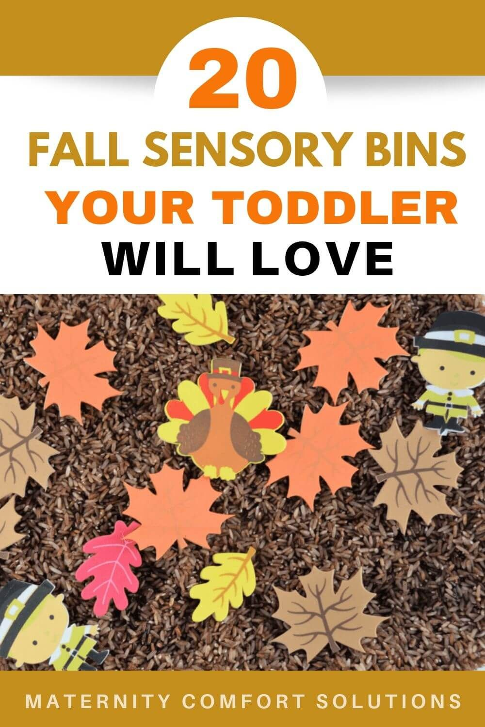 20 Fall Sensory Bins Your Toddler Will Love