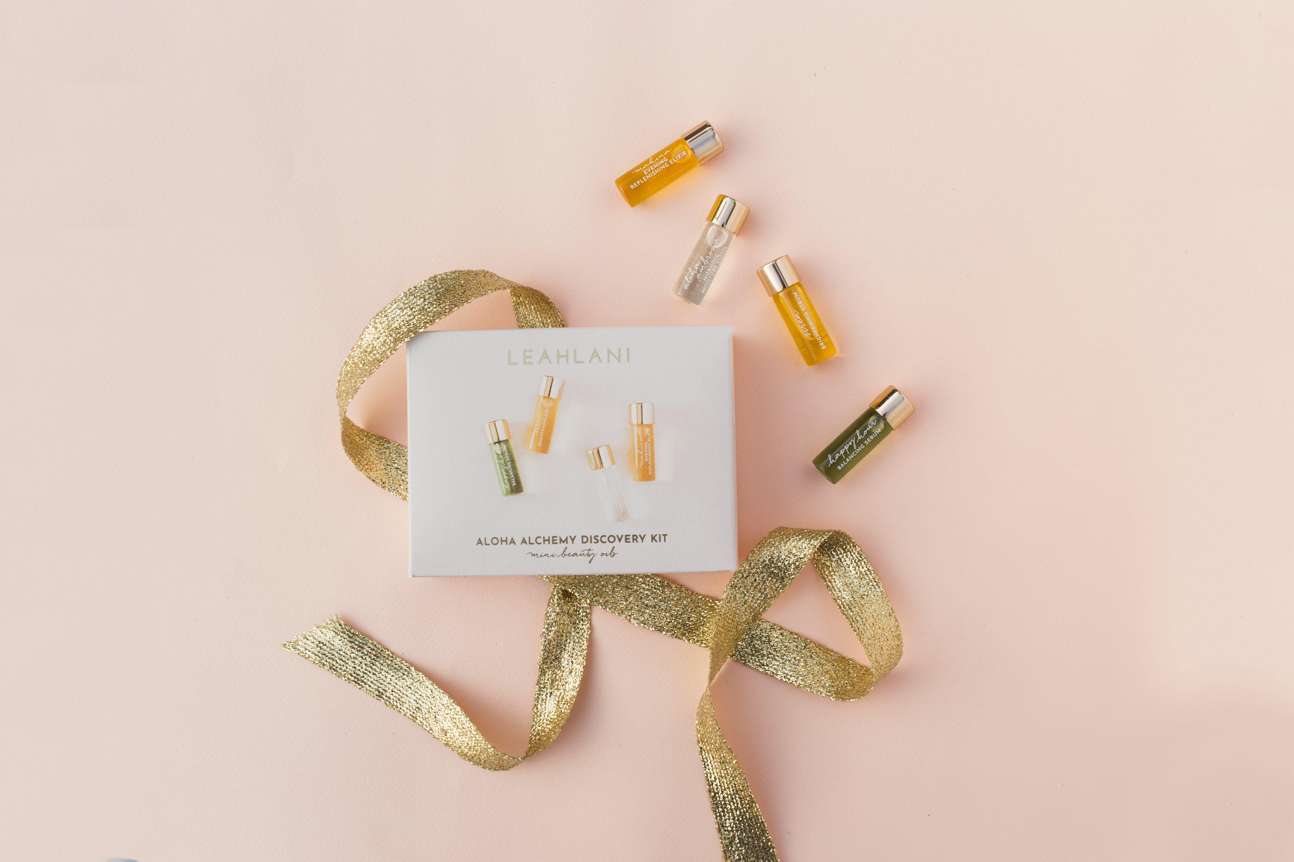 Aloha Alchemy Discovery Kit Mini Beauty Oils Discovery Kit Beauty Oil Invigorating Essential Oils