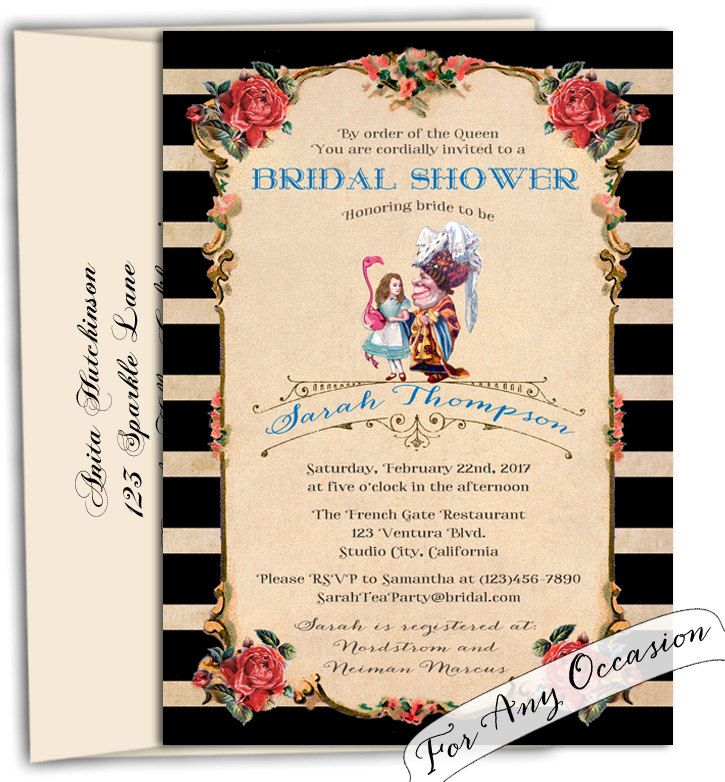 New to CupidDesigns on Etsy: Queen of hearts bridal shower ...