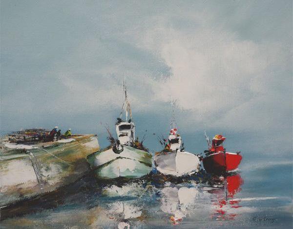 G rard de courcy peintre de la mer mod les for Bruno klein peintre