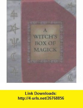 Witchs Box of Magick (9781841811475) Gilly Sergiev , ISBN-10: 1841811475  , ISBN-13: 978-1841811475 ,  , tutorials , pdf , ebook , torrent , downloads , rapidshare , filesonic , hotfile , megaupload , fileserve