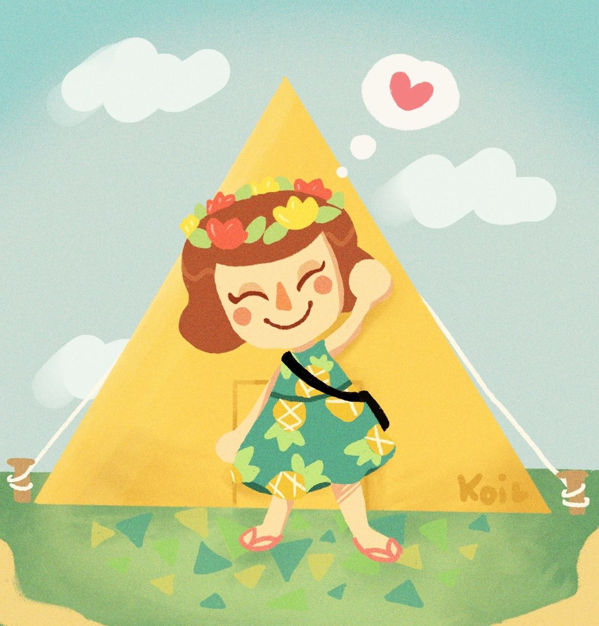 11++ Graceful painting animal crossing images