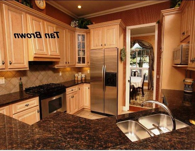 22 Amazing Tan Kitchen Cabinet Ideas If You Need A Gorgeous Kitchen Inspiration Kitchenideas Kitchenr Tan Kitchen Cabinets Kitchen Cabinets Gorgeous Kitchens