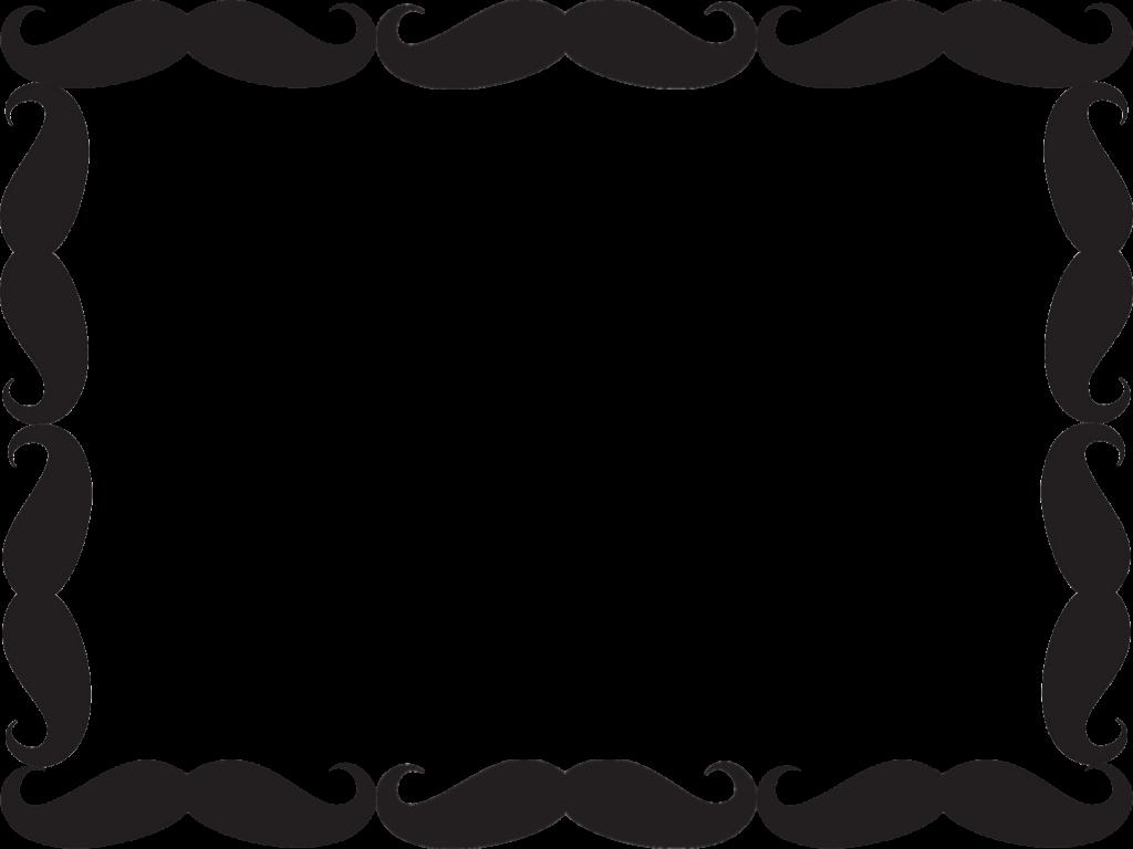 Black moustache cadre photo all transparent tout - Cadre photo transparent ...