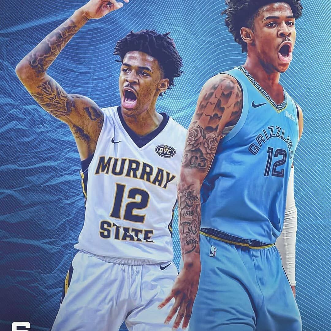 The Memphis Grizzlies selected Ja with the 2nd pick. Who's