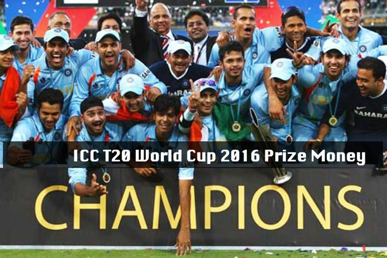 T2o World Cup 2016 Prize Money It Will Be Played In India From March To April In 2016 14 Nations Will Be Compe Cricket World Cup India Cricket Team World Cup