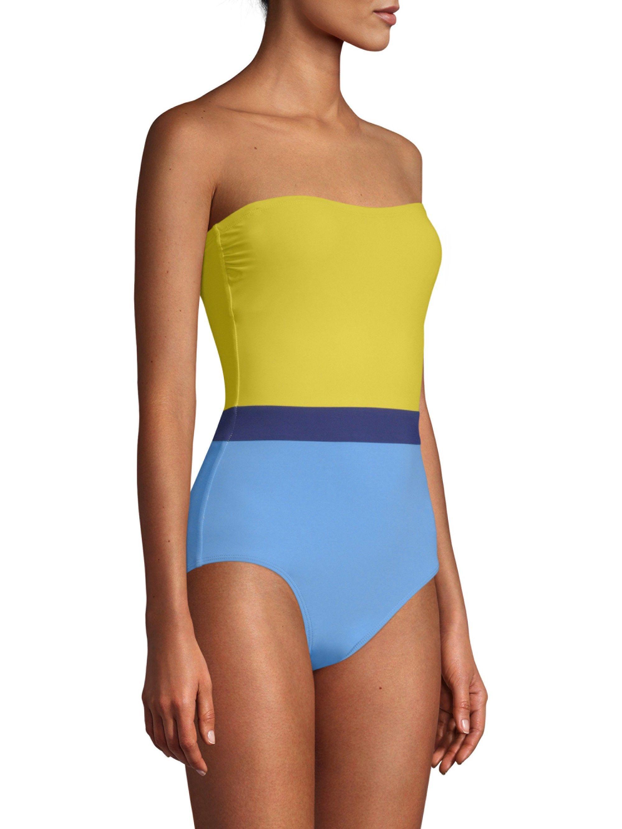 13fe245a476 Flagpole Rita One-Piece Swimsuit - White Key Medium | Products | One ...