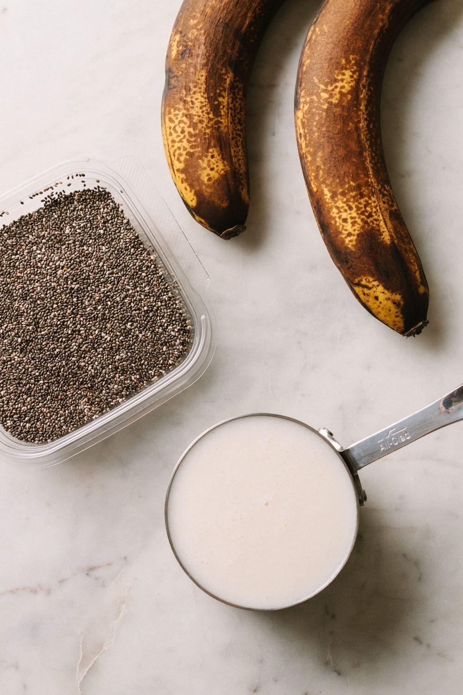 Banana Chia Pudding - A Healthy Breakfast or Snack#banana #breakfast #chia #heal...#banana #breakfast #chia #heal #healthy #pudding #snackbanana