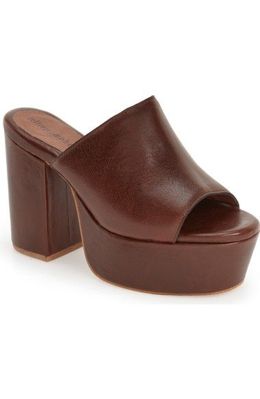b5d2aac1dab need this- Jeffrey Campbell  Pilar  Platform Mule (Women) available at   Nordstrom