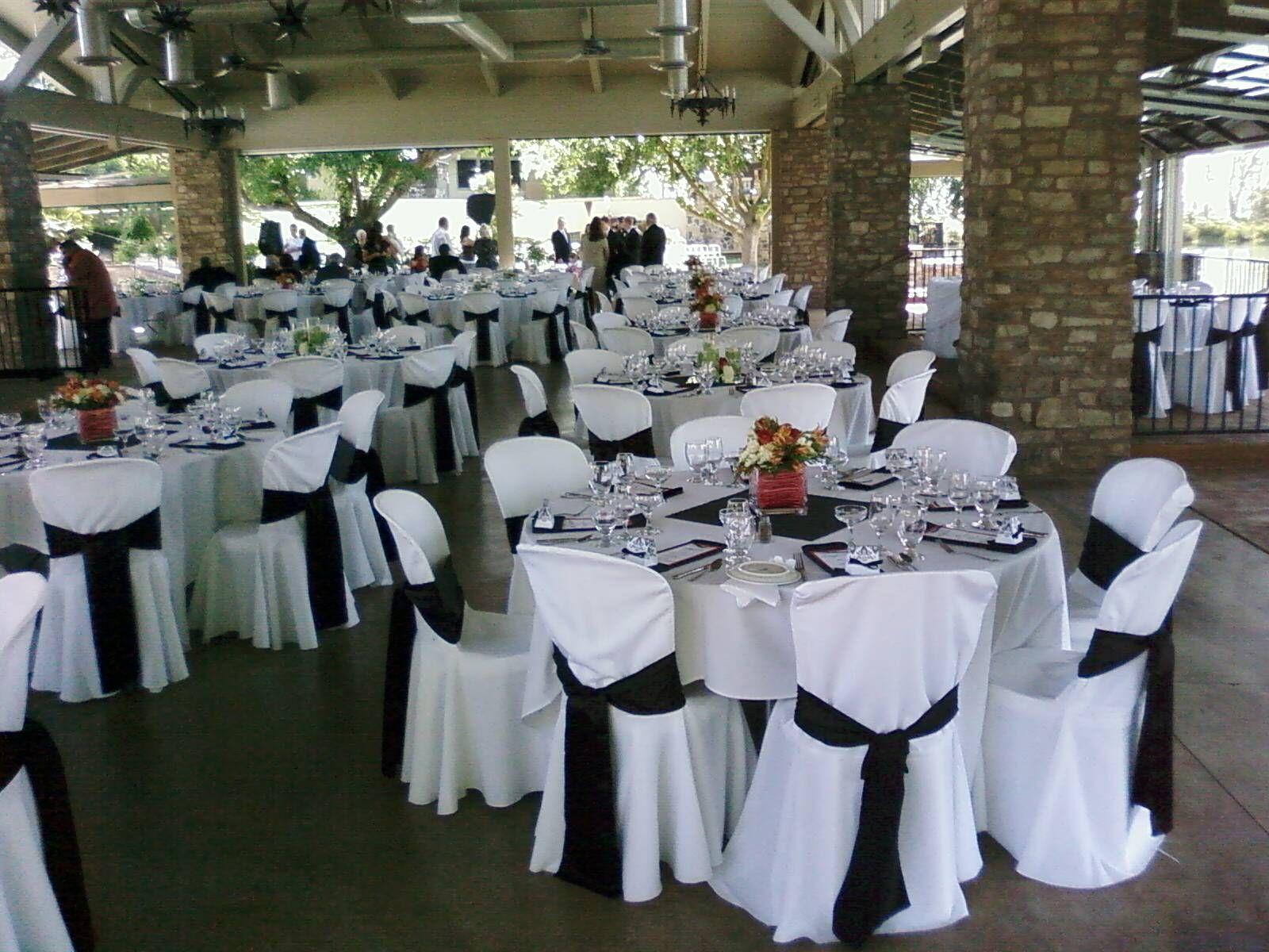Blackwhiteorange Wedding