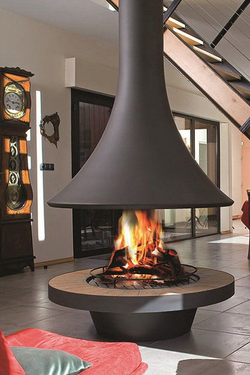An amazing fire from Bordelet | Home decor in 2019