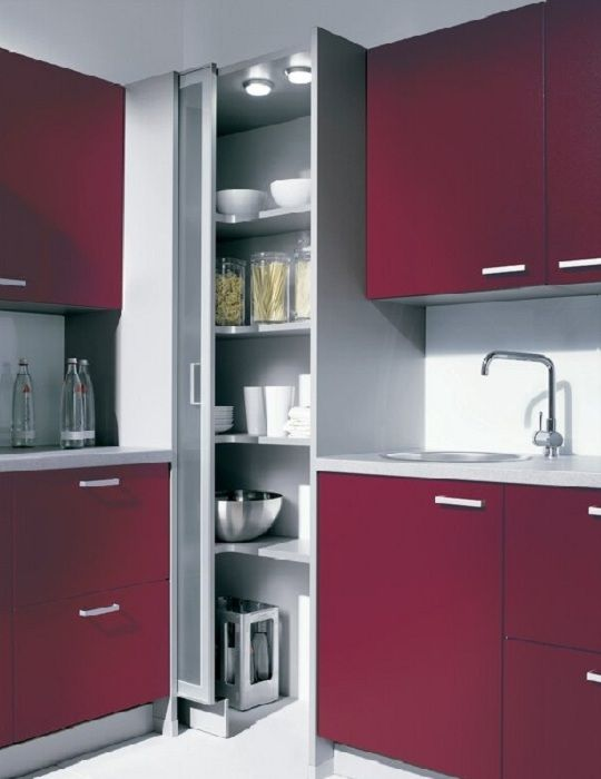 Corner Pantry Into Stairwell Idea Kitchen Remodel