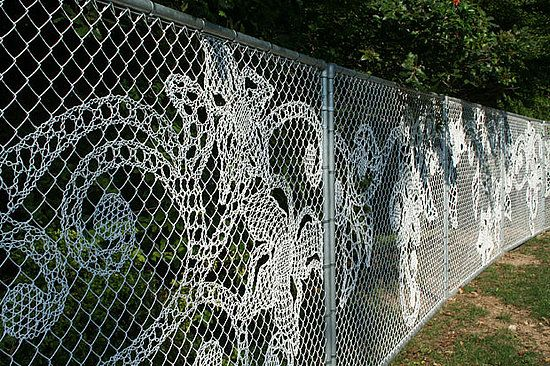 5 Ways To Dress Up A Chain Link Fence Chain Link Fence Fence