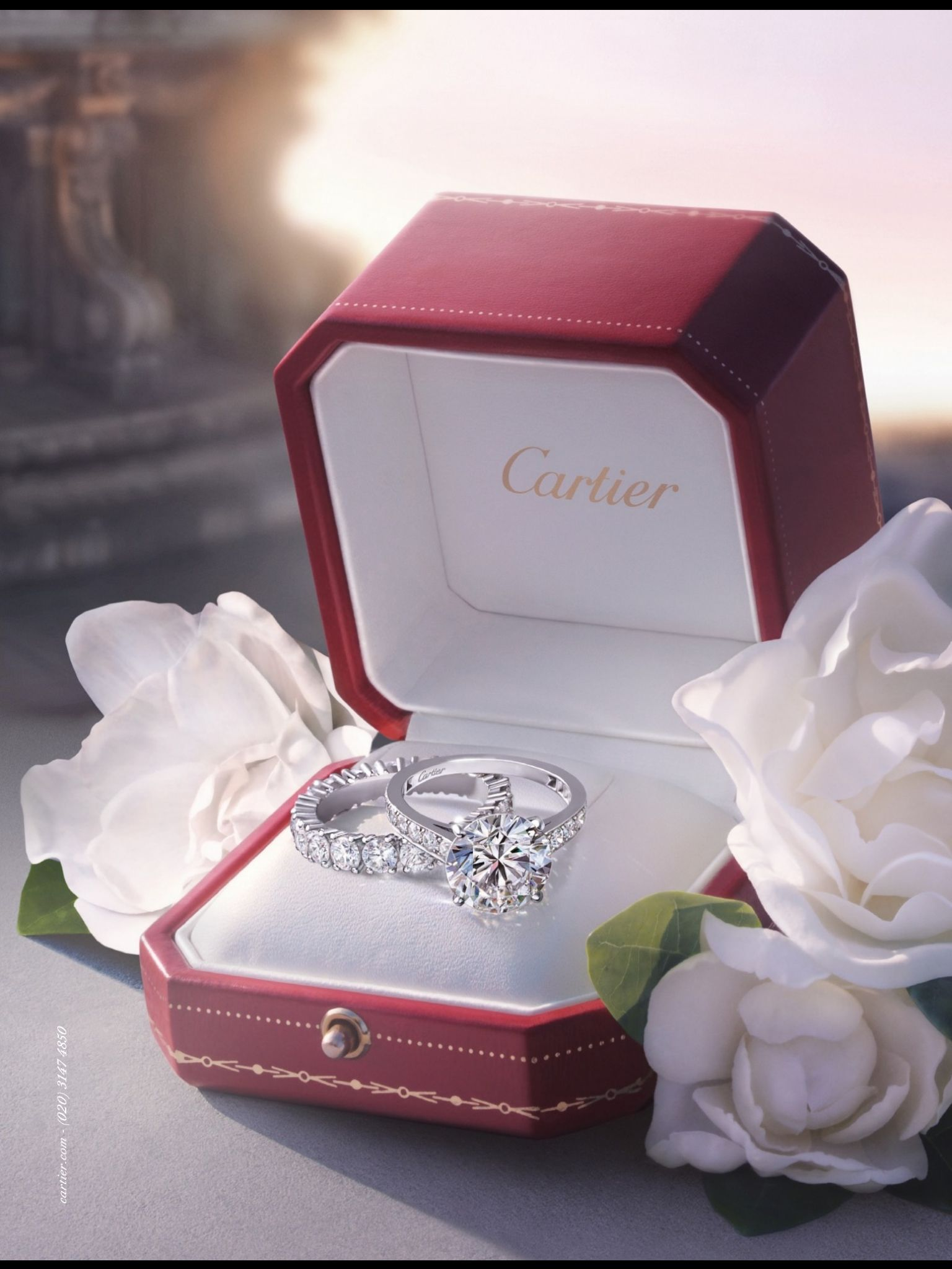Cartier engagement ring Luxury Pinterest