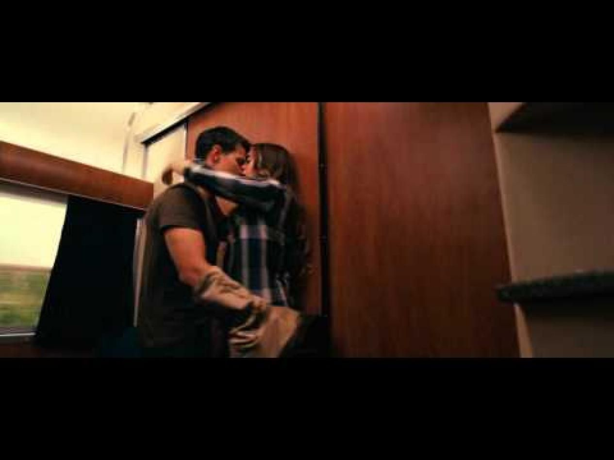 abduction lily collins | Abduction Kiss Scene (Taylor ...