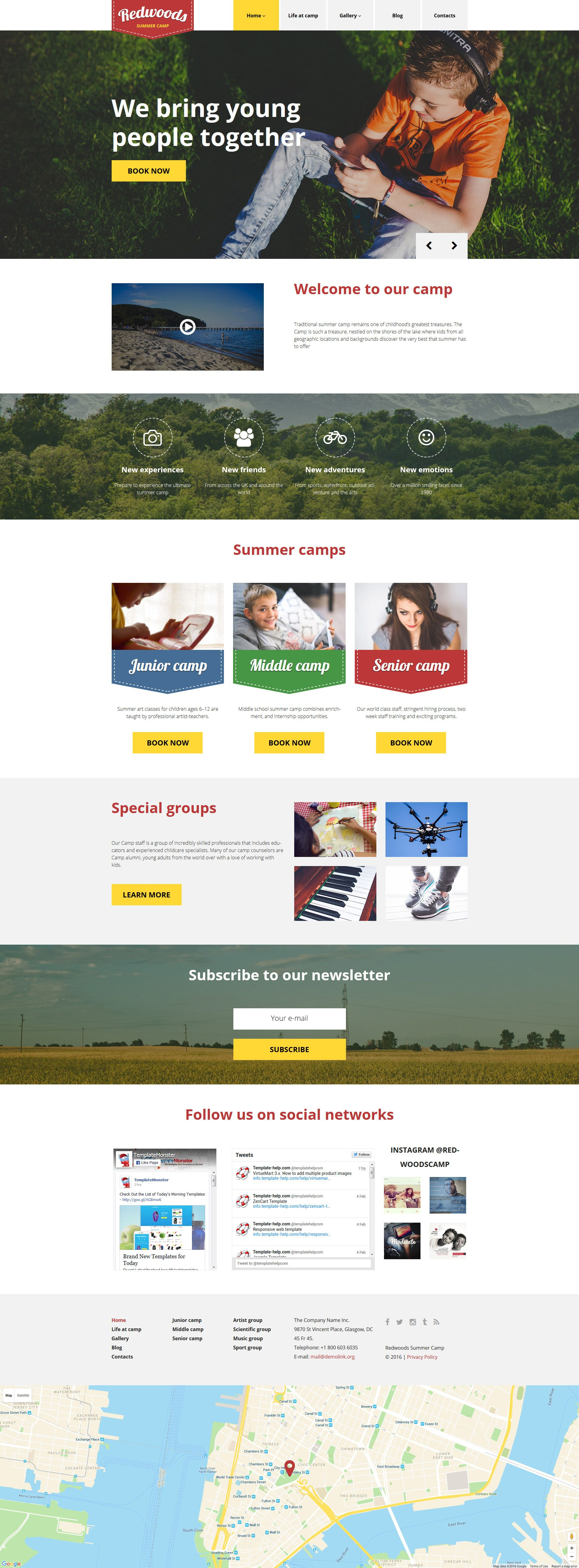 Redwoods WordPress Theme | Wordpress template, Wordpress and Template