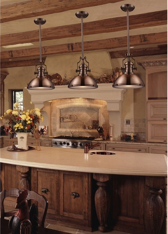 .Love Light Fixtures, Beams On Ceiling & Color Of Wood
