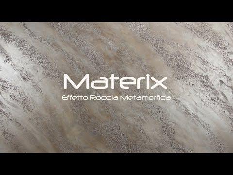 Materix Effetto Roccia Metamorfica Youtube Interni