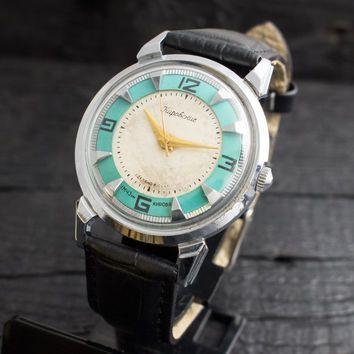 Vintage tyrkysové Kirovskie pánske hodinky ruské hodinky ussr ccp sovietske  hodinky  BestMensWatches 37446107ed2