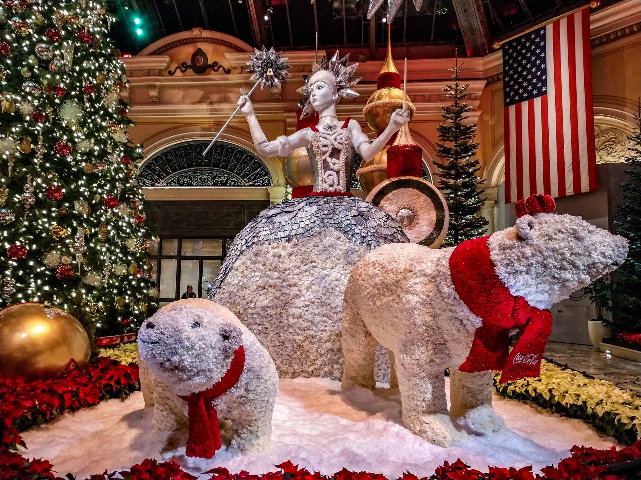 "Bellagio Conservatory ""Majestic Holiday Magic"" Holiday"