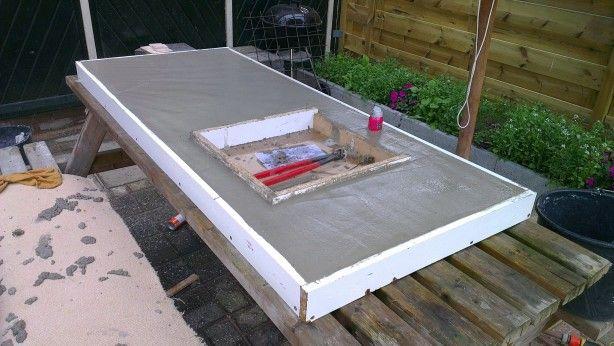 Beroemd zelf een betonnen keukenblad maken | Arquitetura & edifício in NW62