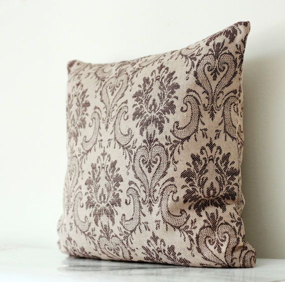 Decorative pillow cover  printed tapestry fabric  by pillowlink, $35.00
