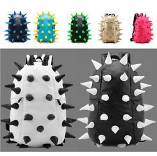 New Fashion Hedgehog Spike Women Man Punk Backpack Travelling Bag School