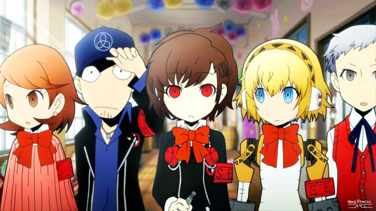 Persona Q: FemMC DLC Opening Cutscene | Persona | Persona q