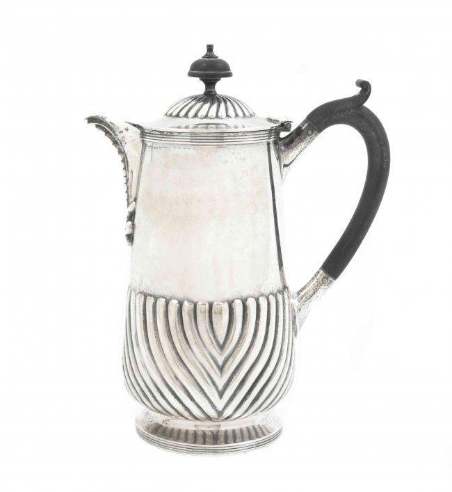 Art Deco 1920/'s English Elkington Silver Plated TeaCoffee Pot