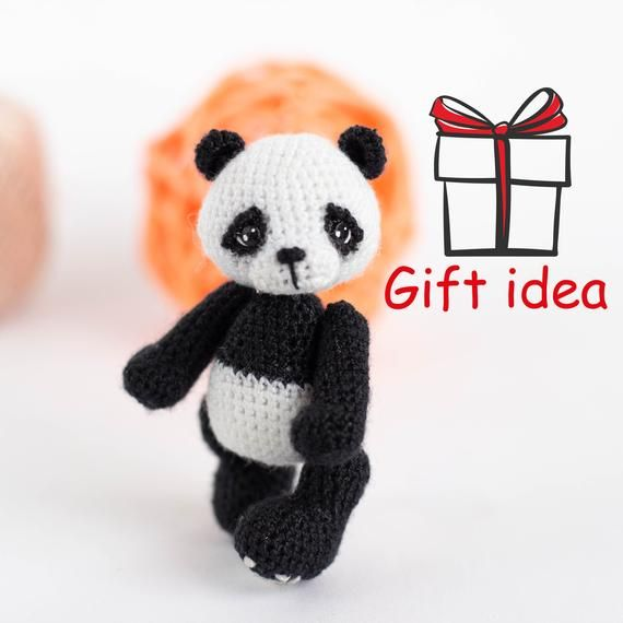 Cat Kid Design - Amigurumi Panda Set | MiaMano | 570x570