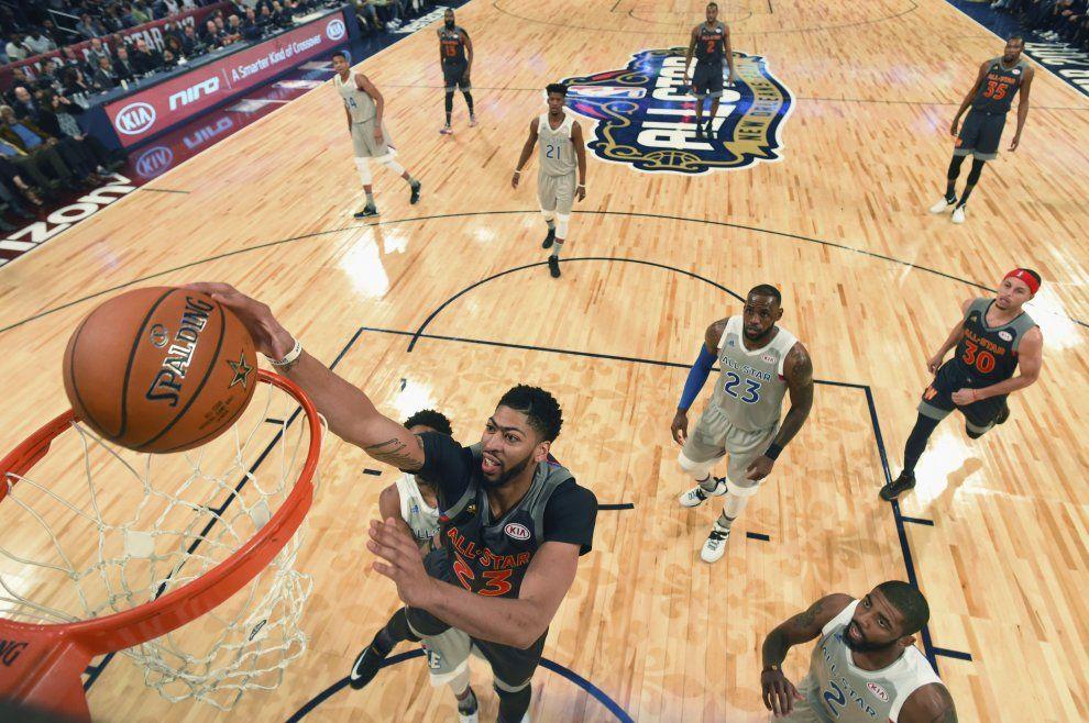 Basket Nba, All Star Game: vince l'Ovest, Davis mvp