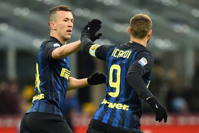 Perisic Eder Strike Late As Inter Down Chievo Milan Afp