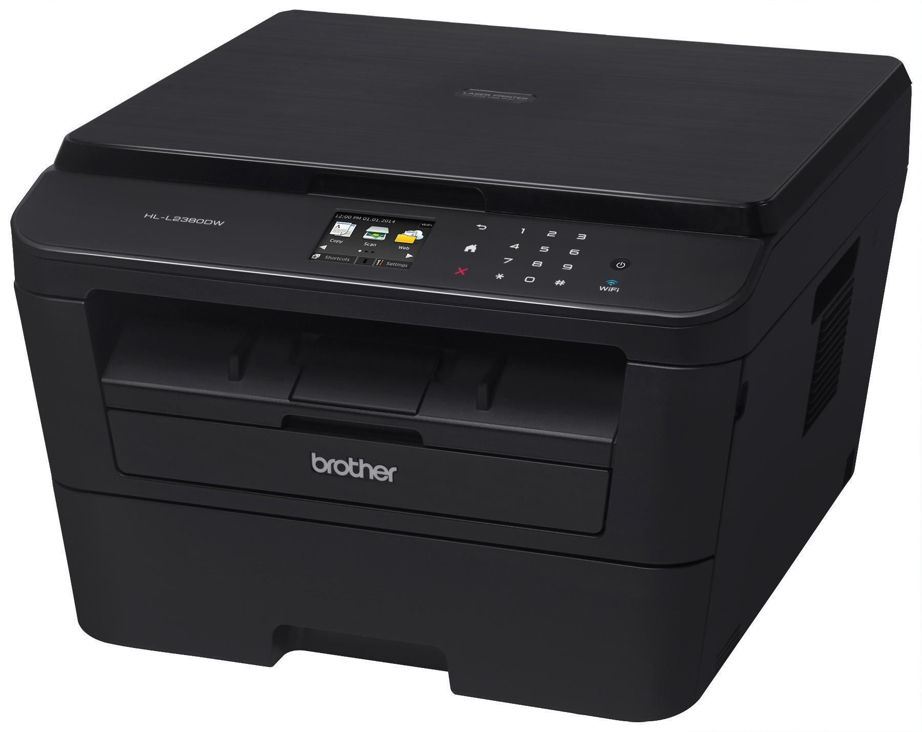 Amazon Com Brother Hl L2340dw Compact Laser Printer With Duplex Printing And Wireless Networking Electronics Laser Printer Printer Multifunction Printer