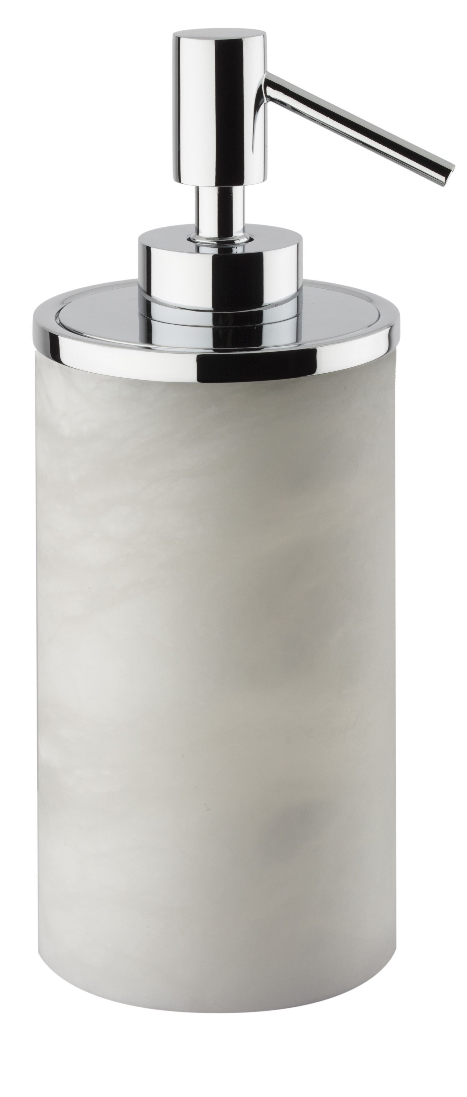 Alabaster Free Standing Pump Liquid Soap Lotion Dispenser For Bathroom,  Kitchen