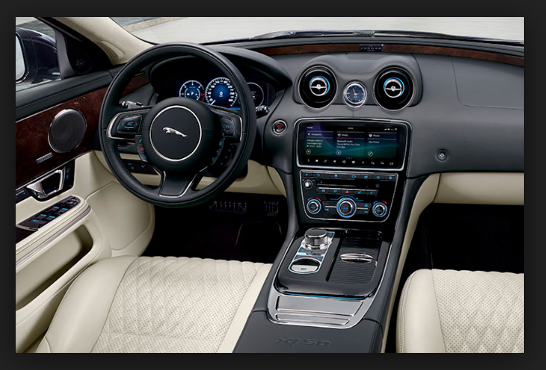 Jaguar Xjl 2019 Jaguar Xj Interior