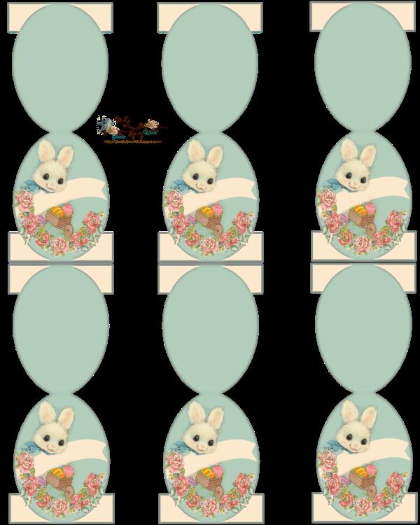 Place Cards 230318 Glenda 27s Worl 3bd Pp Png 600 750 Pixels Easter Place Cards Easter Design Easter Bunny Cards