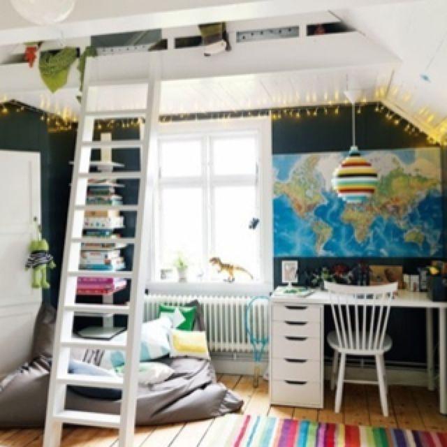 Vaulted Ceiling Kids Bedroom Novocom Top