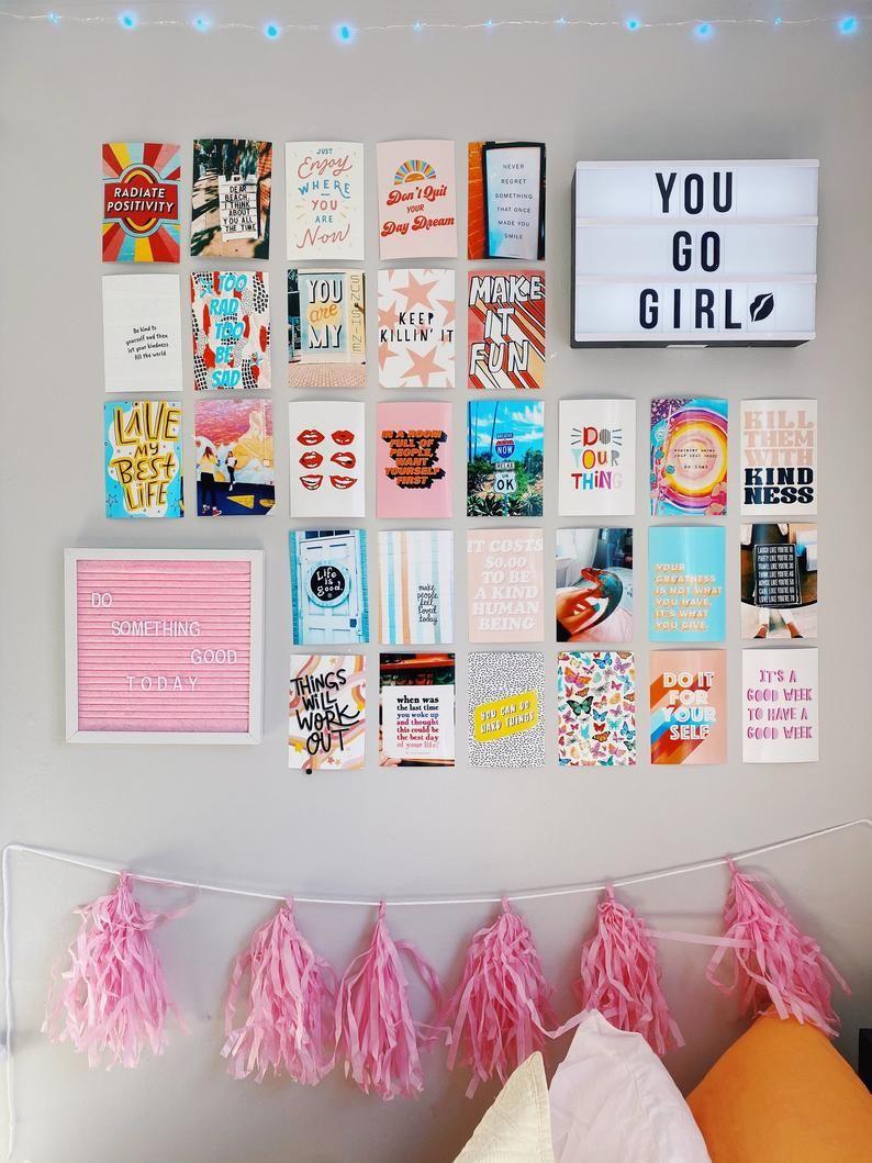 Radiate Positivity Wall Photo Collage
