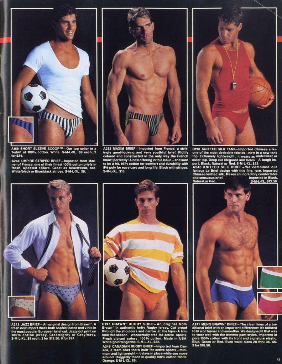 d687bd21bf undergear, underwear, men's, mens, catalog, undergear catalog, 80's ...