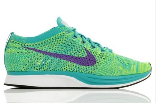 NEW Nike Men's Flyknit Racer Sport Turquiose / Hyper Grape 526628 301 SZ 11 #Clothing, Shoes & Accessories:Men's Shoes:Athletic #socialmatic05 $110.00